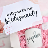 Bridesmaid Proposal w/mug - box babe gift co.