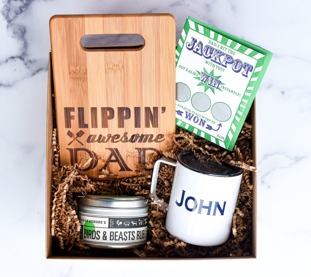 Flippin' Awesome Dad - box babe gift co.