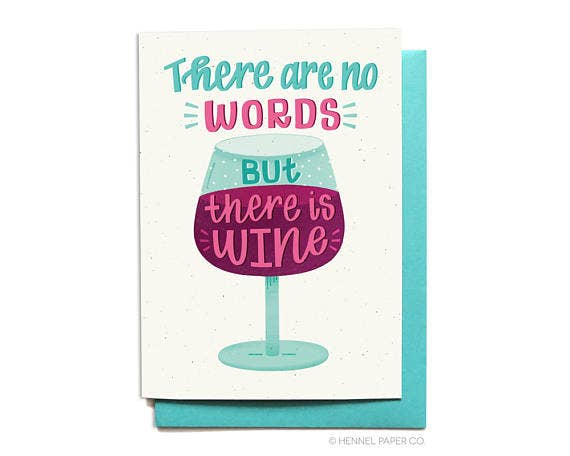 There is WINE - box babe gift co.