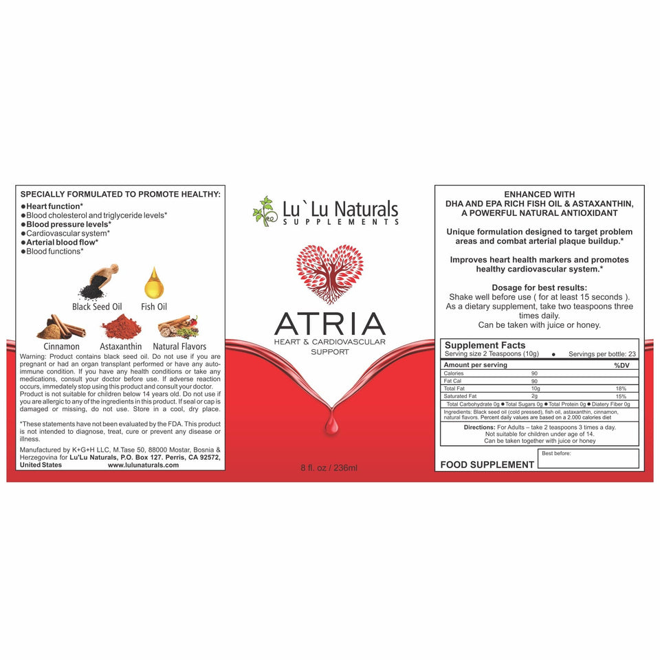 natural and organic supplement for heart and cardiovascular support 4