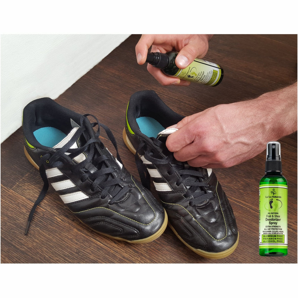Natural Shoe Deodorizer - Foot Deodorant Spray