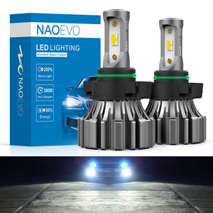 NF 5202 LED Fog Light Bulb, Fanless Mini Size, 50W 6000LM