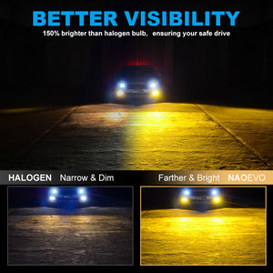 NF_H11Y-LED Headlight Bulb-Better visibility