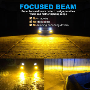 NF_H11Y-LED Headlight Bulb-Focused beam
