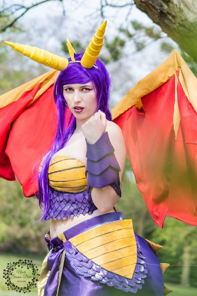 Battle Armour Spyro The Dragon Cosplay Prints