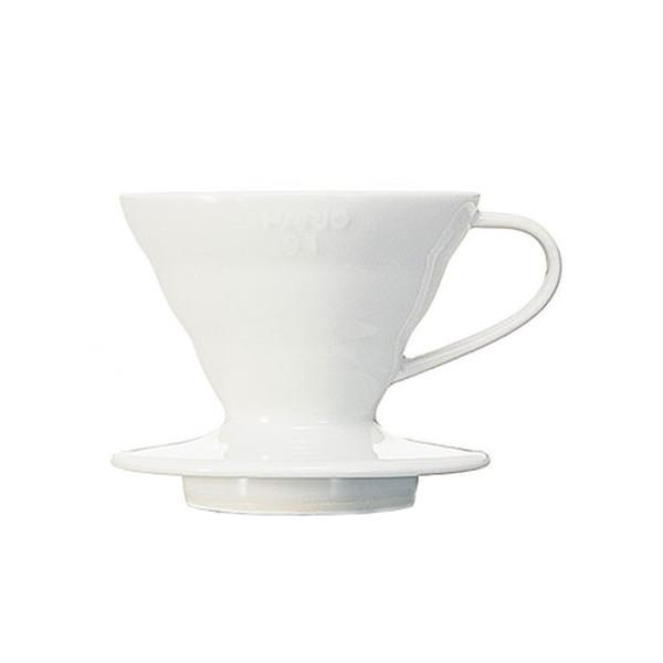 Hario V60 01/02 Coffee Dripper – White Ceramic