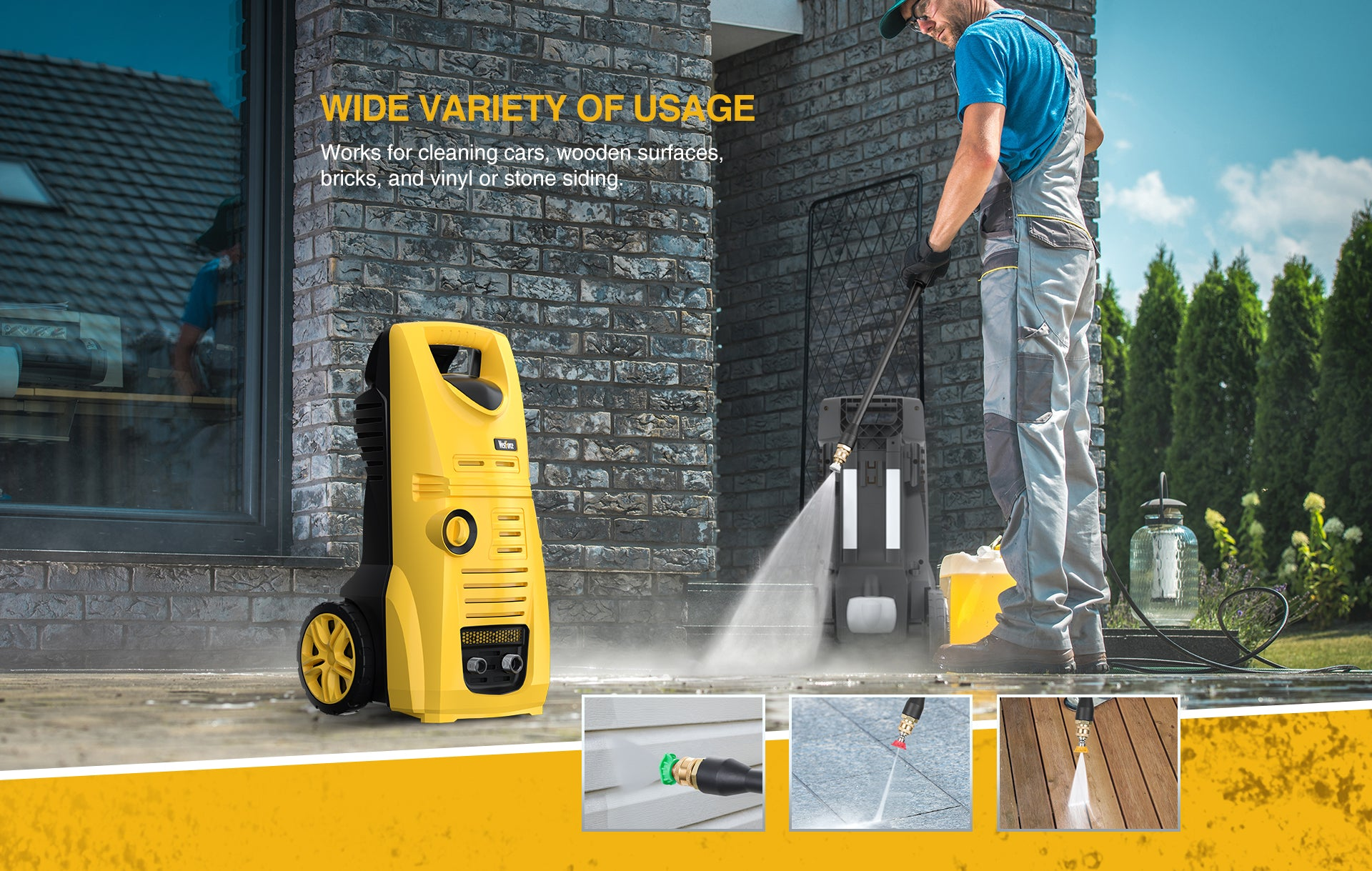 7 Electric Pressure Washers under $150