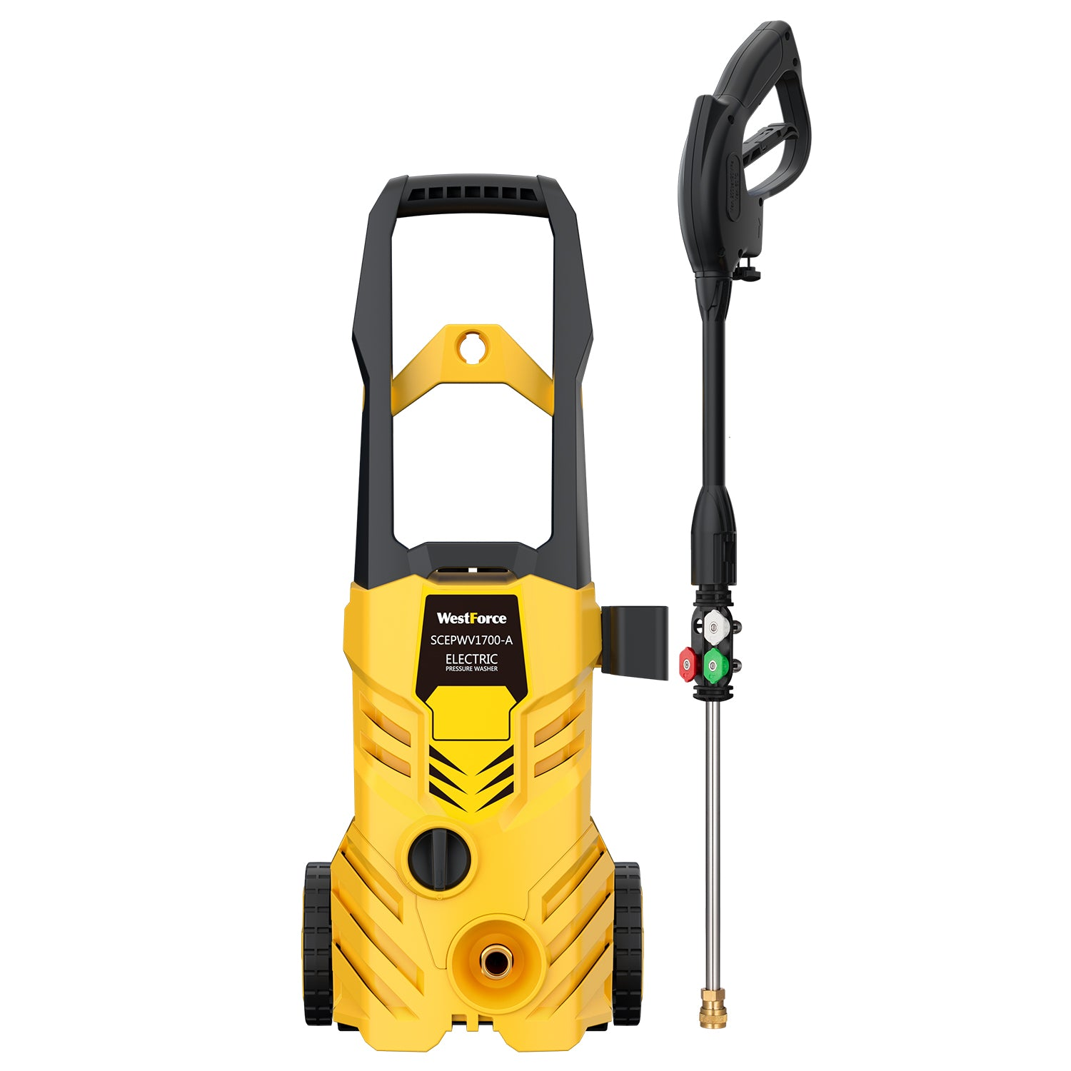 WestForce 2800 PSI 1.76 GPM 1600 W Electric Pressure Washer