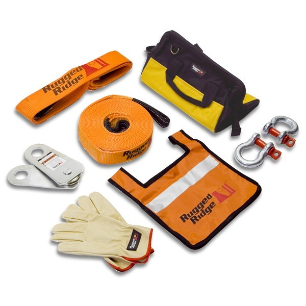Rugged Ridge XHD Recovery Gear Kit, 20000 Lbs
