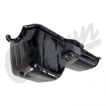 Crown Automotive Jeep Engine Oil Pan - Black
