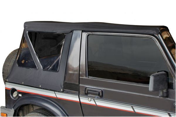 Rampage Products OEM Replacement Soft Top for 1986-1994 Suzuki Samurai, Black Diamond