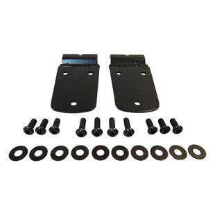 Crown Automotive Hood Hinges (Black)