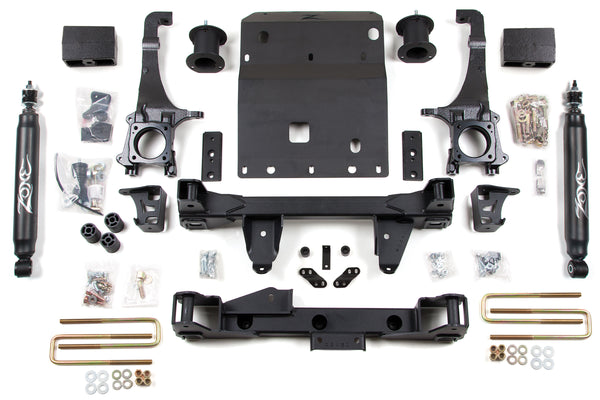 "Zone Offroad 4"" Suspension Lift Kit 2005-2015 Toyota Tacoma 4WD"