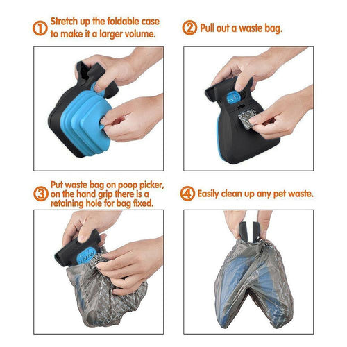 Dog Poop Scooper and Bags