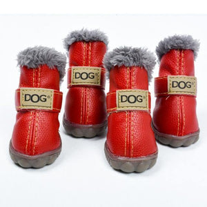 #petproducts2u Waterproof Skid proof Warm Dog Boots Paw Protector