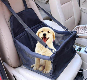 #petproducts2u Car Booster Seat For Dog/Cat with Seat Belt Stable for Travelling in Car