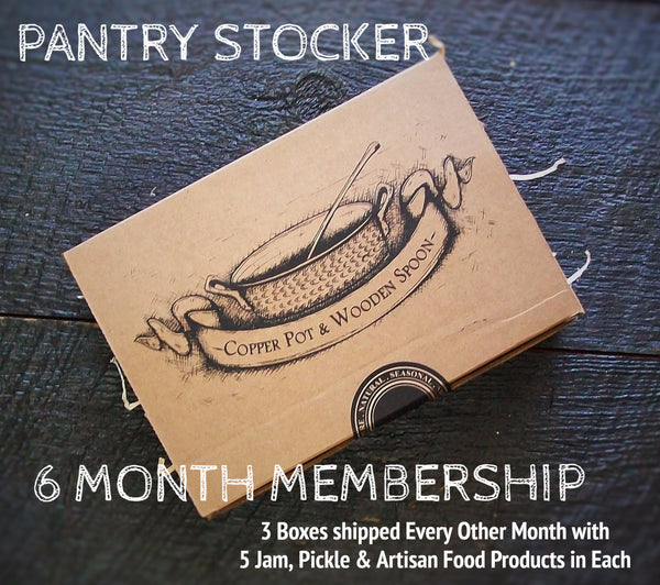 PANTRY STOCKER - 6 Month Membership (3 boxes - 5 items each)