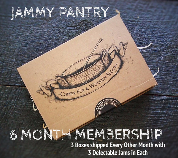 JAMMY PANTRY - 6 Month Membership (3 Boxes - 3 Jams Each)