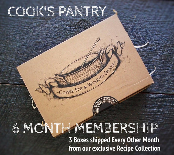 COOK'S PANTRY - 6 Month Membership (3 Recipe Collection Boxes )