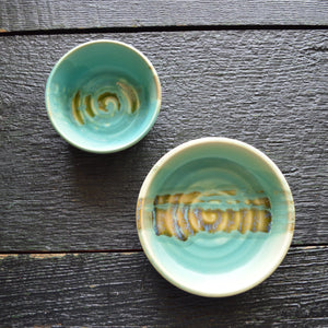 Pottery Ramekin Serving Bowls from Art on Depot