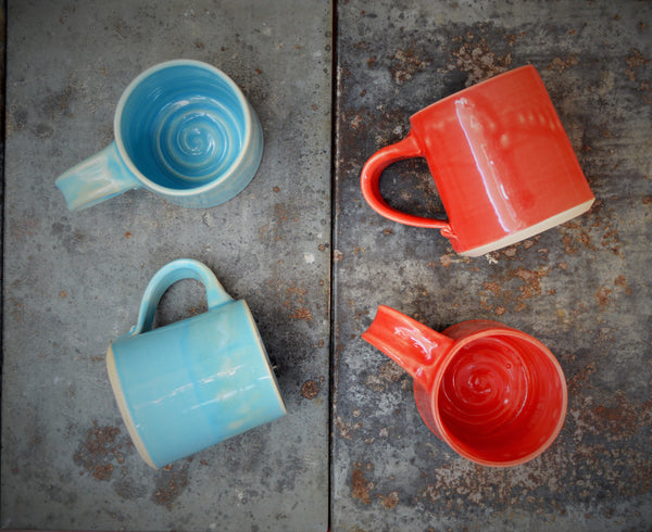 Pottery Mugs - Handcrafted by Art on Depot