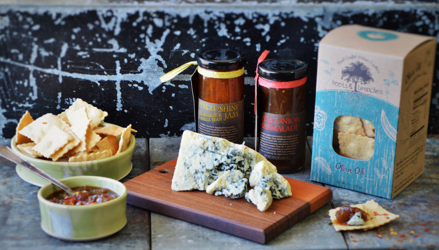 Olive Oil Crackers from Roots and Branches