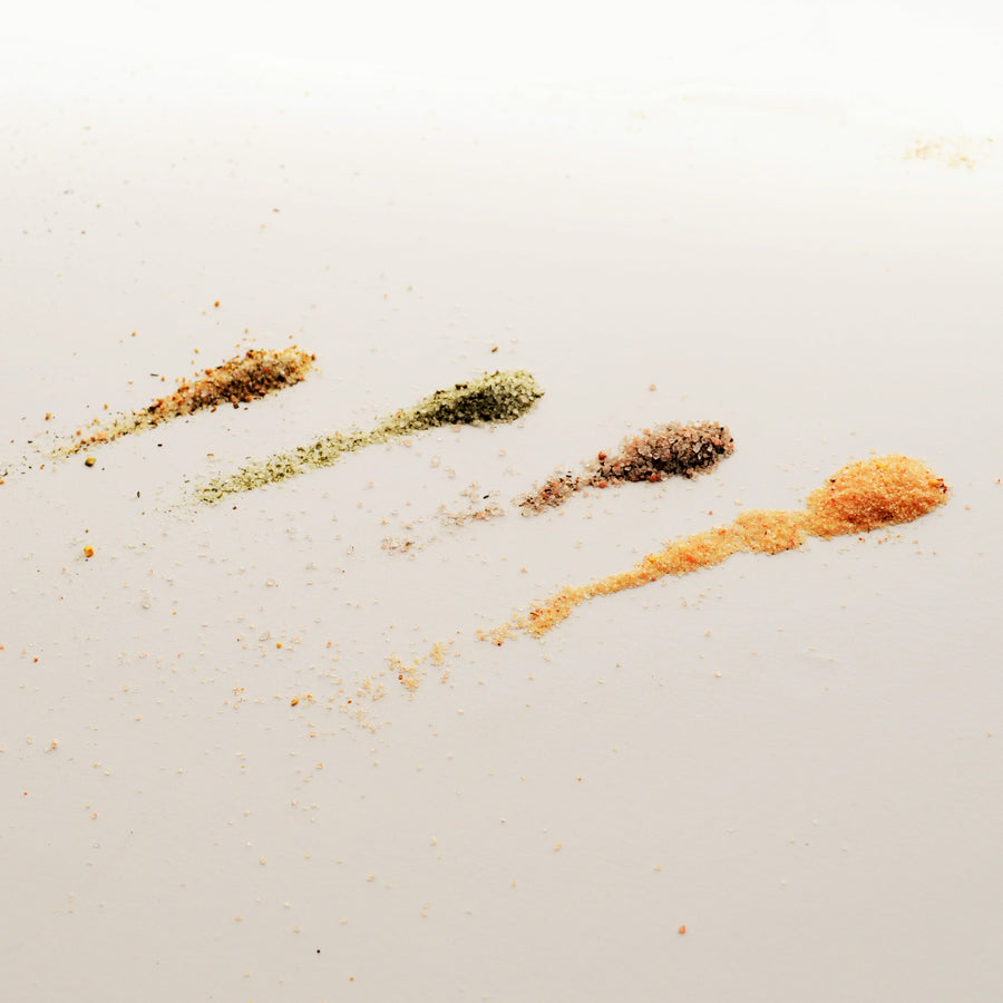 Savory Seasoning Salts - Wild Ramp, Jalapeno, Citrus Dill, Charred Garlic