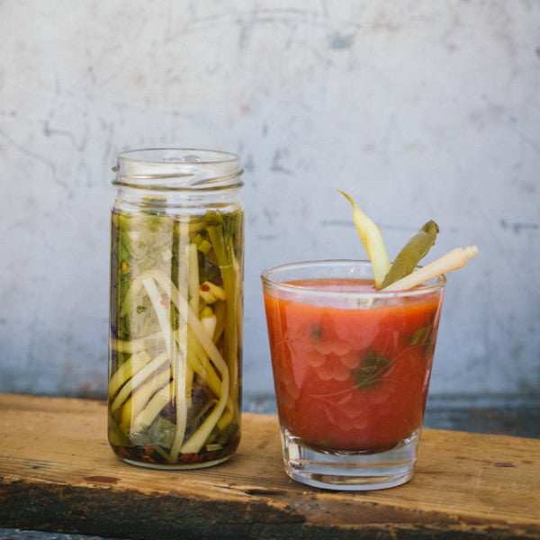 Pickled Wild Ramps - PREORDER for May, Limited Qty Available -