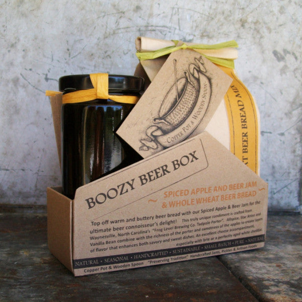 Boozy Beer Box - Spiced Apple & Beer Jam and Beer Bread Mix