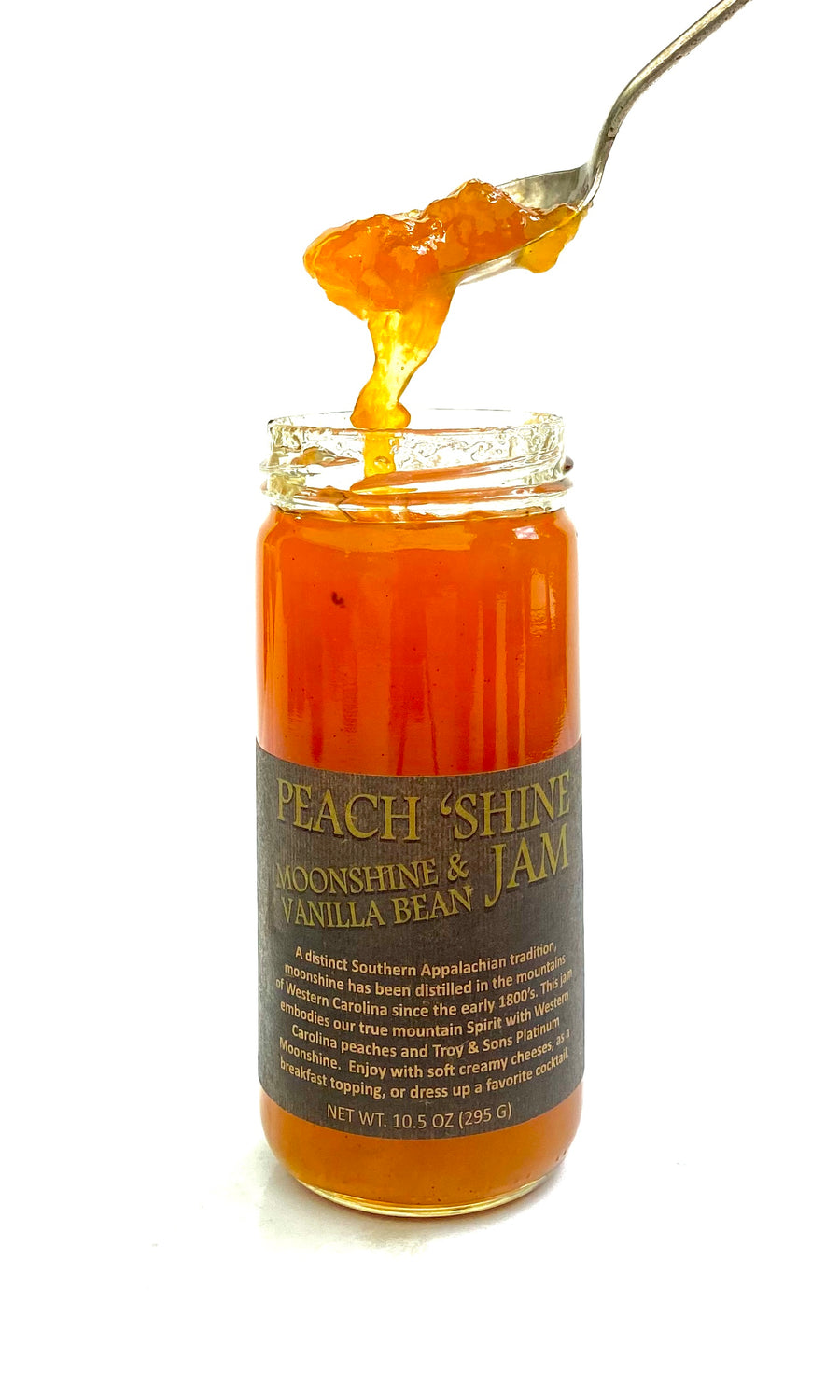 Peach 'Shine Jam - Moonshine & Vanilla Bean