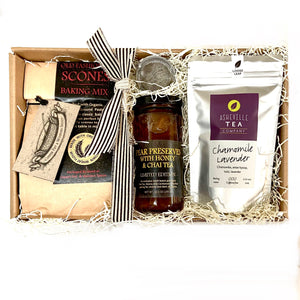 Jam, Scone & Tea Gift Set