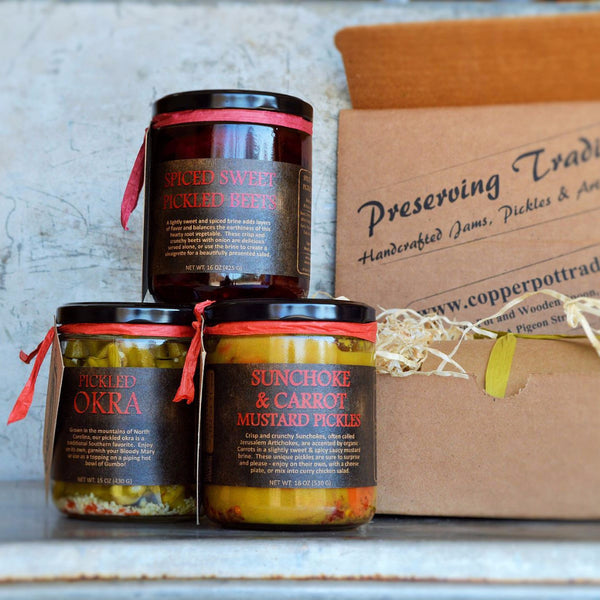 PICKLER'S PANTRY - 6 Month Membership (3 Boxes - 4 Pickled Items Each)