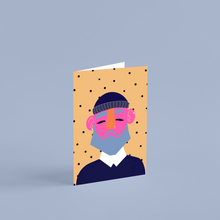 Load image into Gallery viewer, 'Barry' A6 Greetings Card