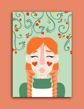 Load image into Gallery viewer, 'Anne' A6 Greetings Card