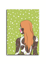 Load image into Gallery viewer, 'Goddess Green' A6 Greetings Card