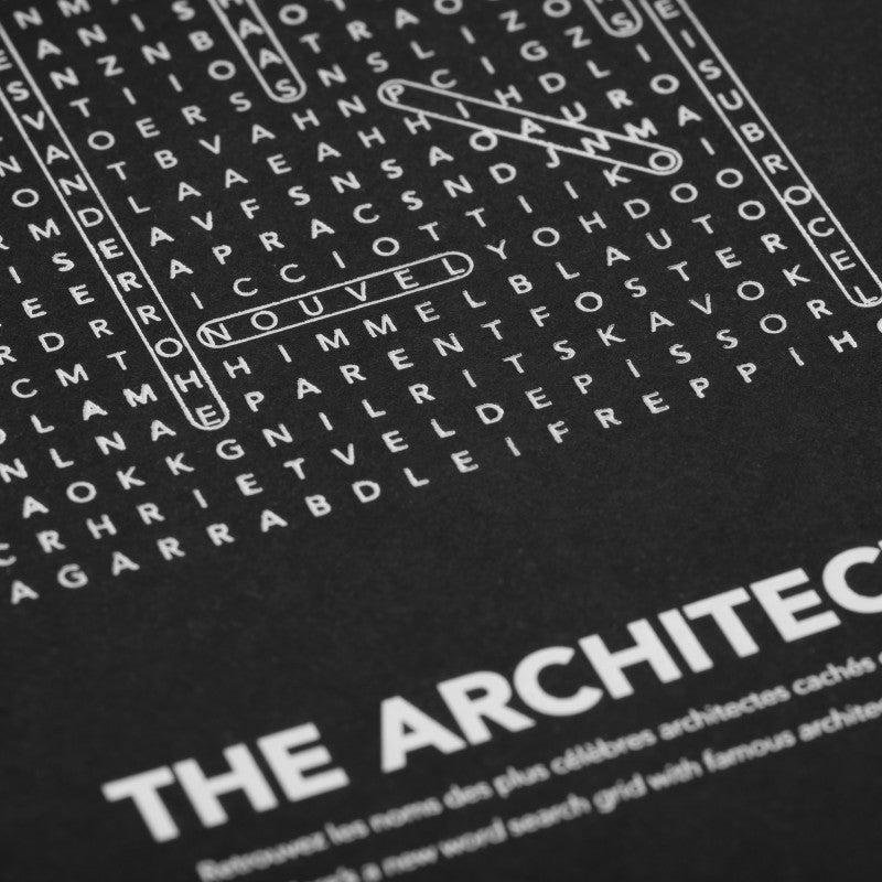 Carte Find Me I I am an Architect I Cinqpoints