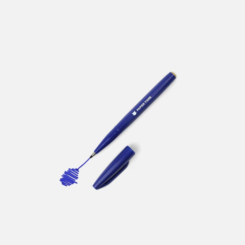 Papier Tigre I Sign Pen Bleu