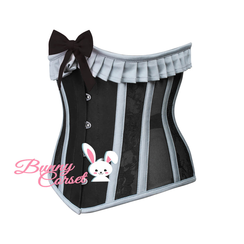 Eve Bespoke Cotton With Mesh Corset