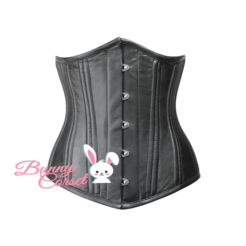Samaira Leather Waist Trainer Corset