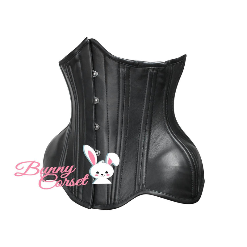 Micaela Leather Waist Trainer Corset
