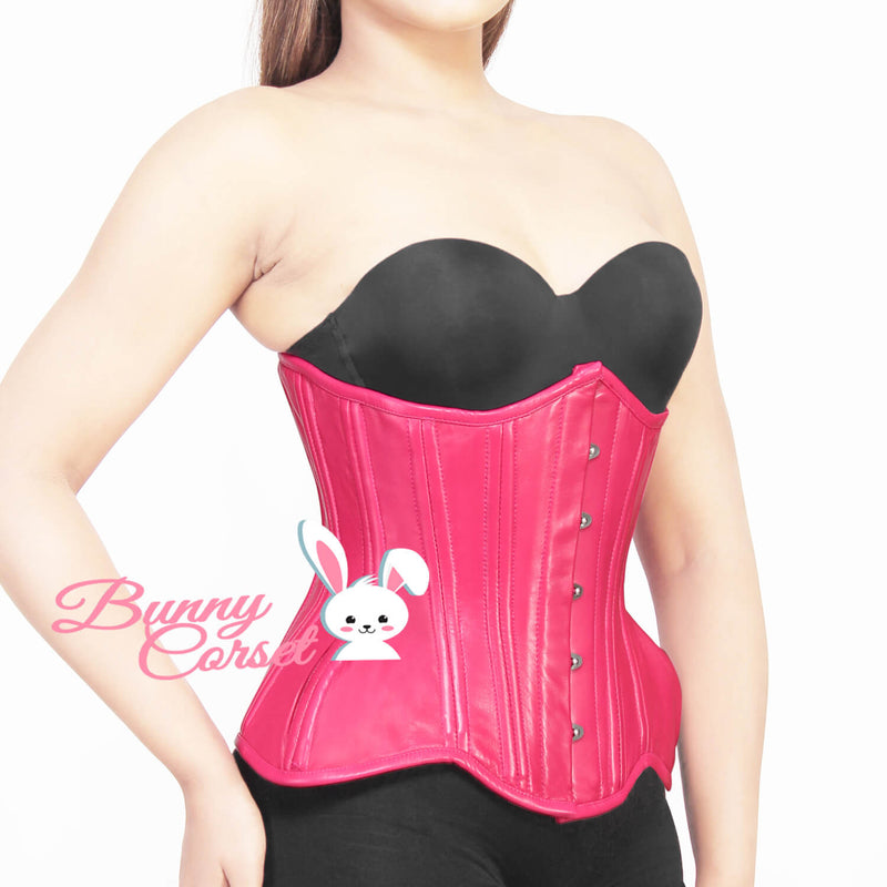 Kalina Leather Waist Cincher Corset