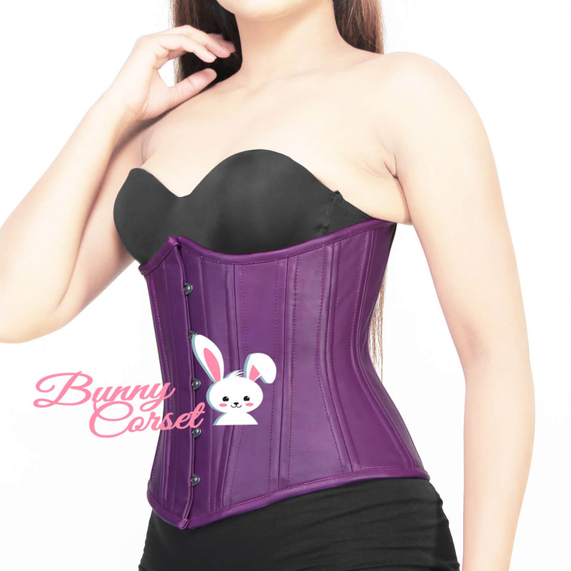 Kaisley Leather Waist Trainer Corset