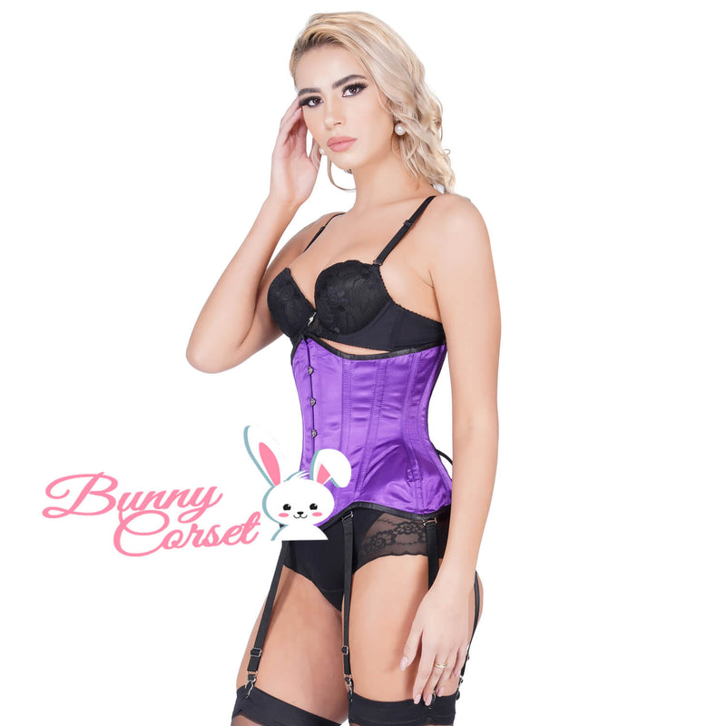 Meadow Bespoke Satin Curvy Corset