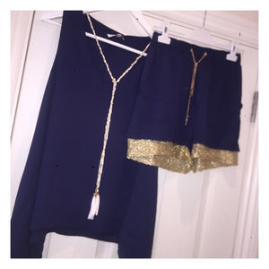 Shorts Set Navy