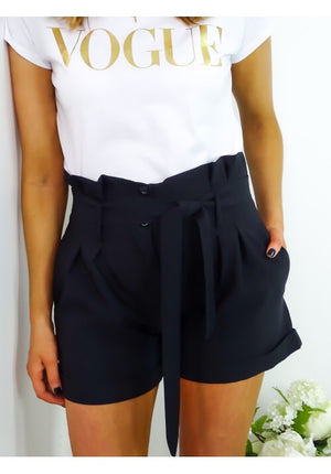 Natalie Shorts (pink/black/navy)