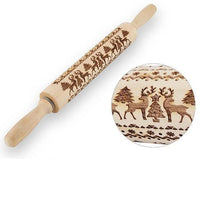 Christmas Rolling Pin - Kitchen Altitude