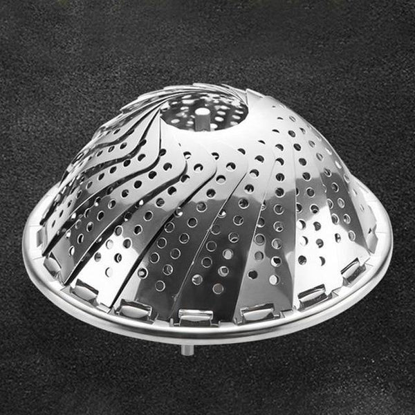 Expandable Steamer Basket Stainless Steel - Kitchen Altitude