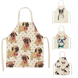 Bulldog Printed Kitchen Aprons - Kitchen Altitude