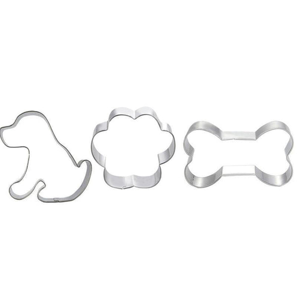 Dog Shaped Metal Cookie Cutters - Kitchen Altitude