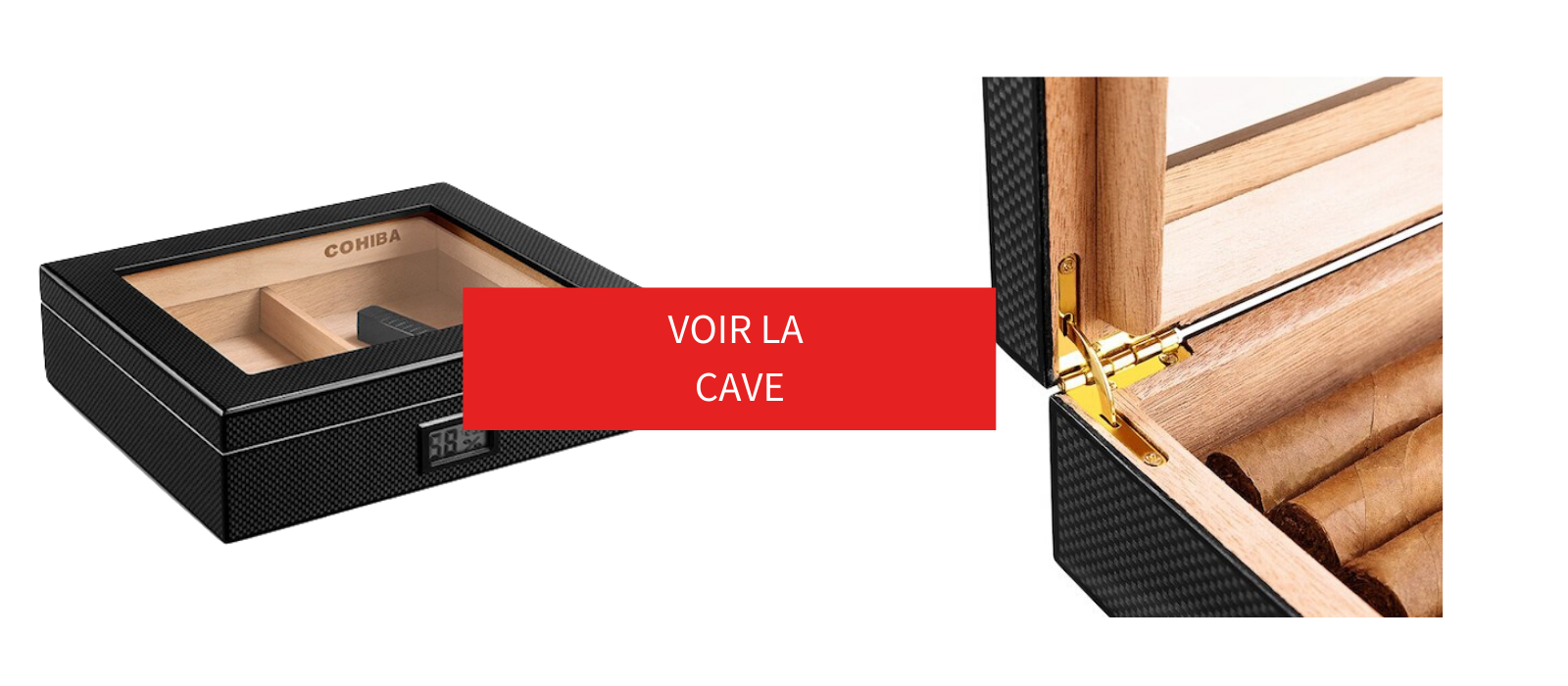 cave a cigare carbone